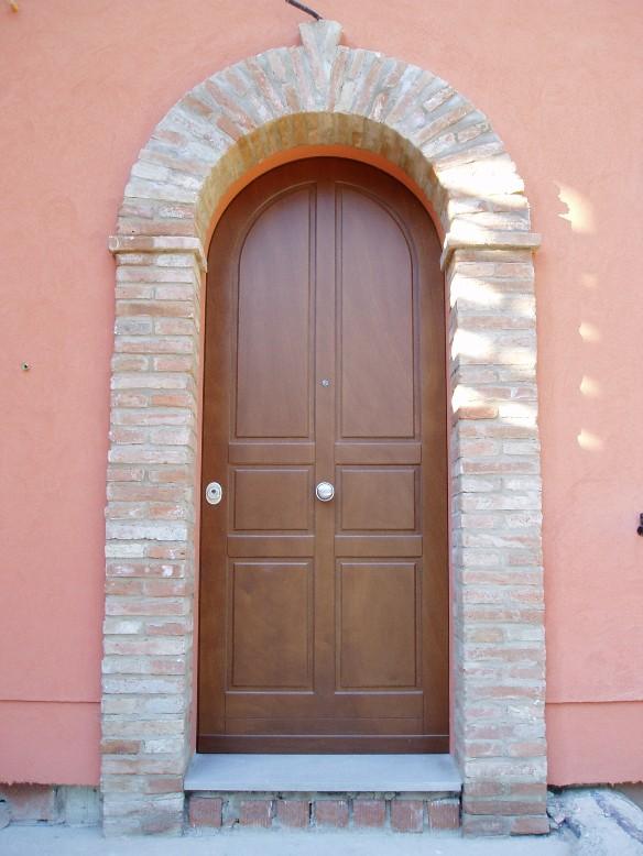 Porte blindate s i c infissi - Porta esterna in alluminio ...